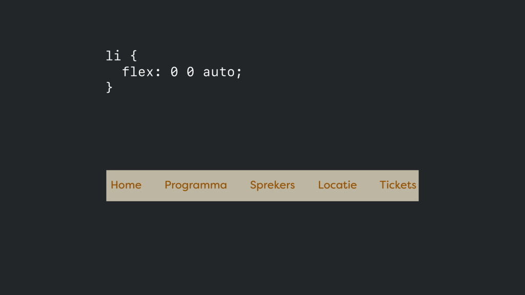 Home Programma Sprekers Locatie Tickets li { f...