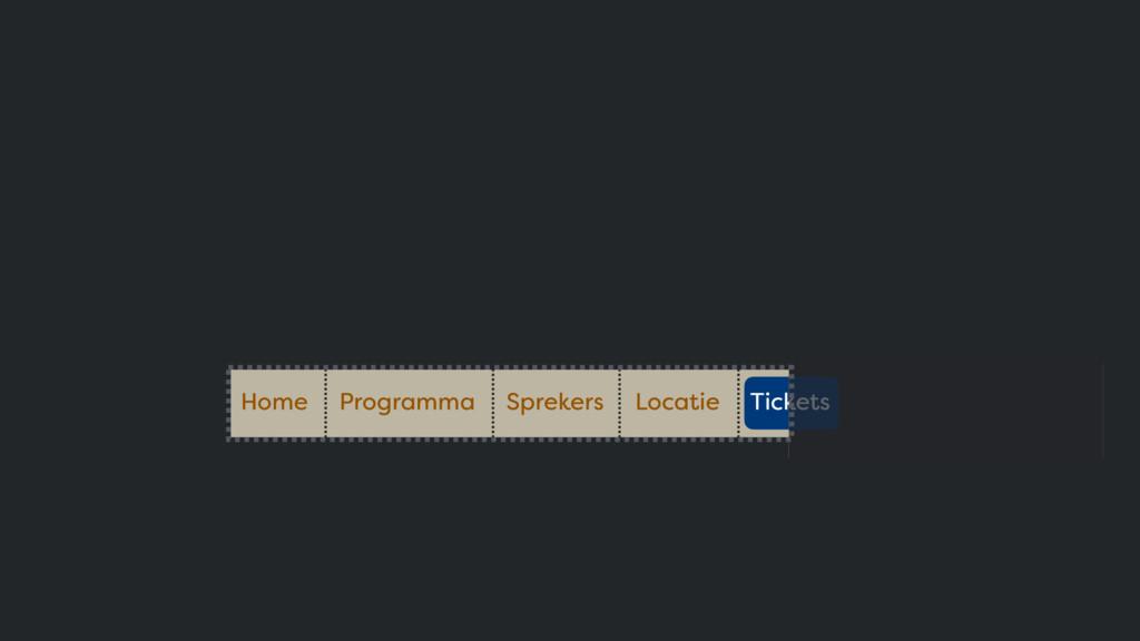 Home Programma Sprekers Locatie Tickets