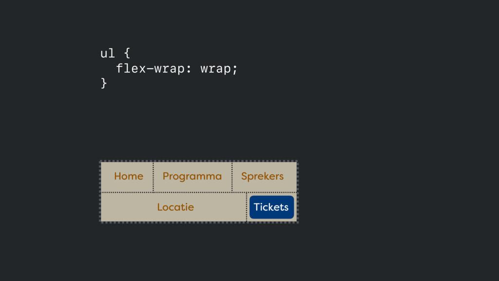 Home Programma Sprekers ul { flex-wrap: wrap;...
