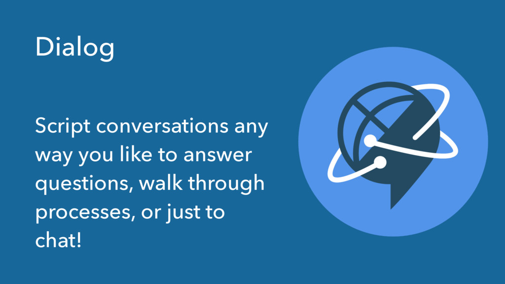Dialog Script conversations any way you like to...