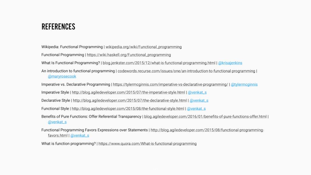 REFERENCES 147 Wikipedia: Functional Programmin...