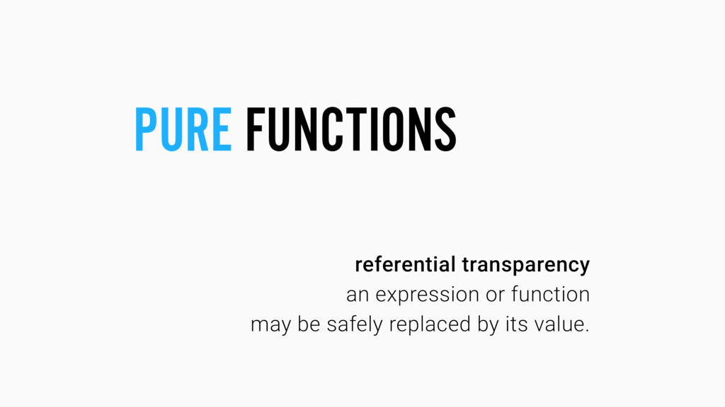 referential transparency an expression or funct...