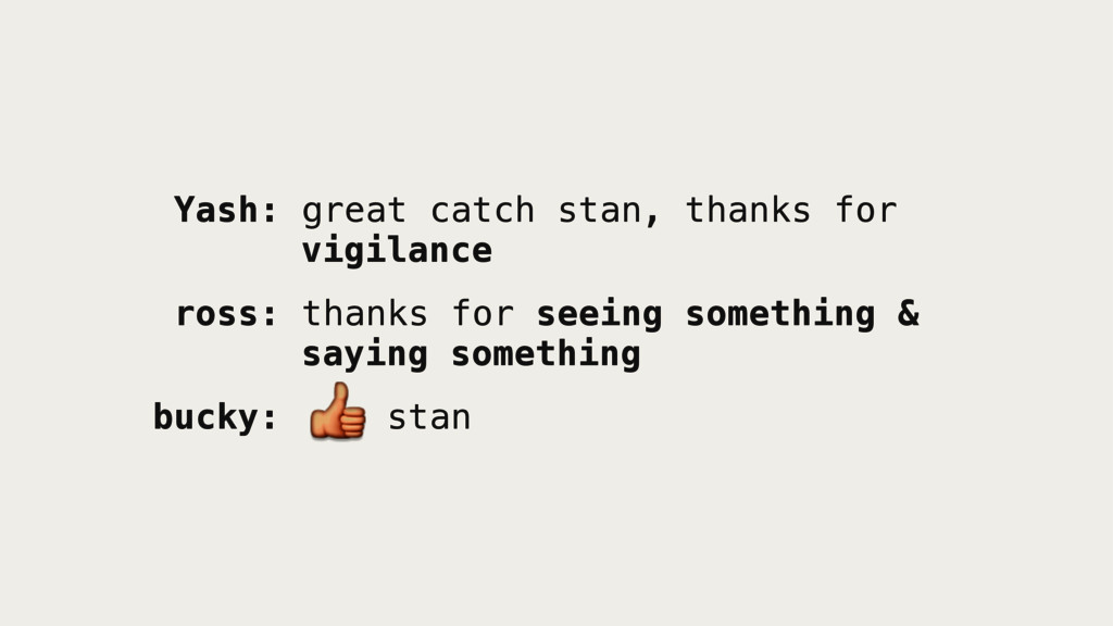 Yash: great catch stan, thanks for vigilance ro...