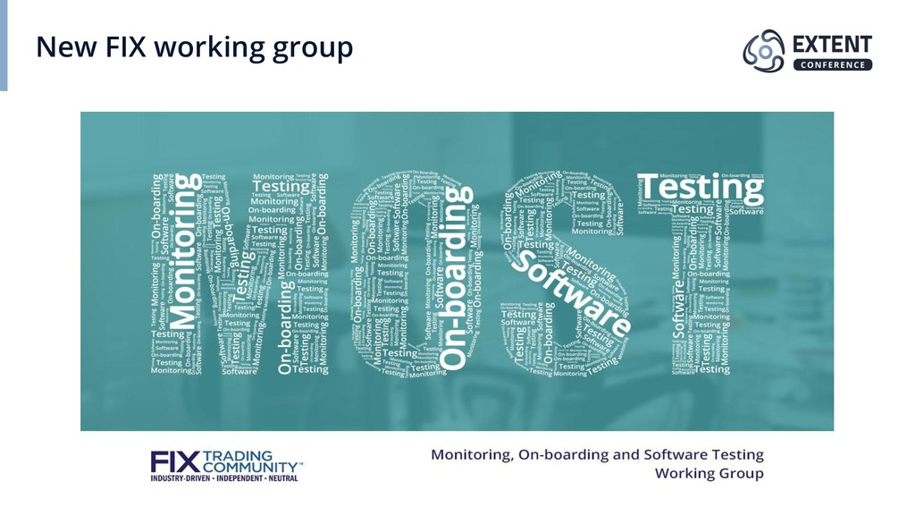 New FIX working group