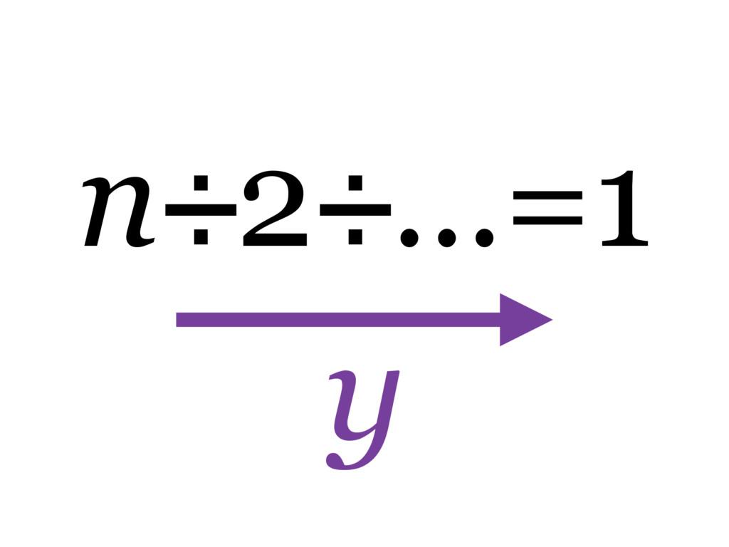 n÷2÷…=1 y