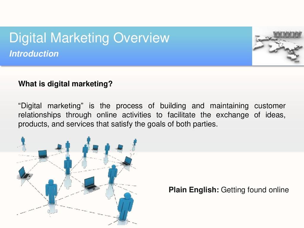 "What is digital marketing? ""Digital marketing"" ..."