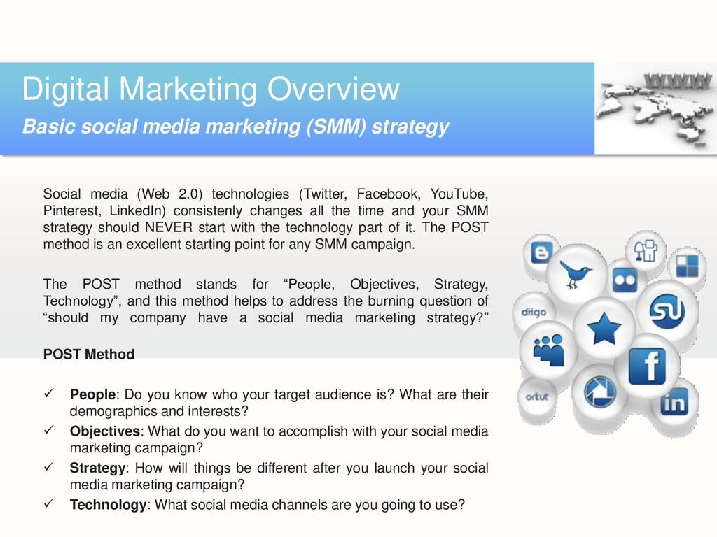 Social media (Web 2.0) technologies (Twitter, F...