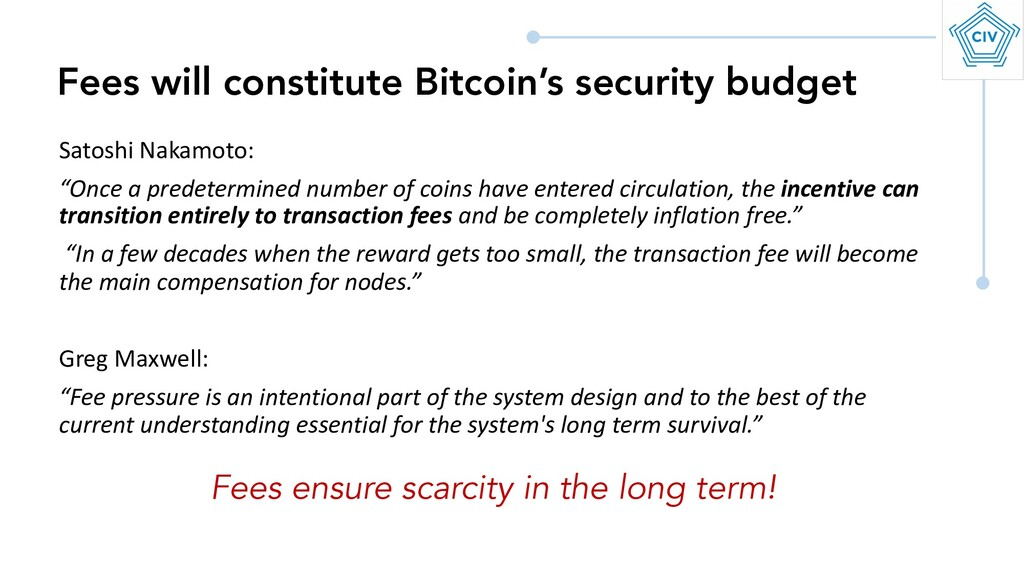 """Satoshi Nakamoto: """"Once a predetermined number ..."""