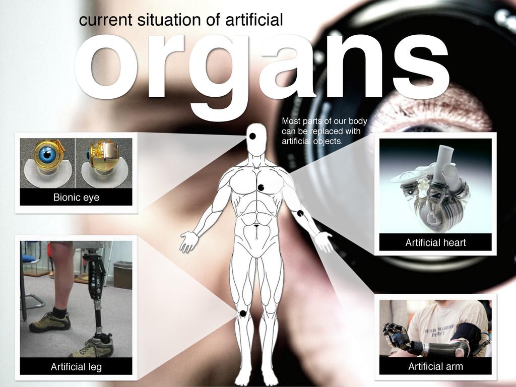 organs! Bionic eye! Artificial heart! Artificial ...