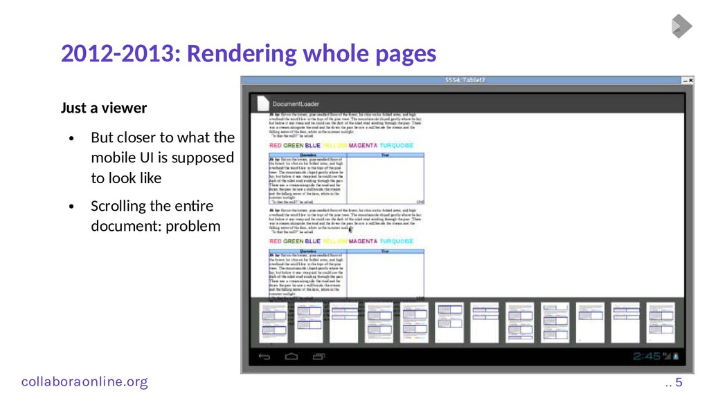 Col .. 5 collabora online . org 2012-2013: Rend...