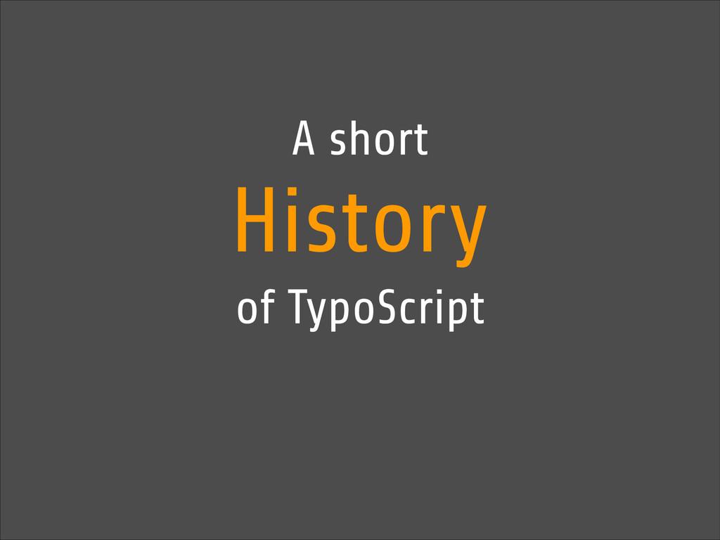 A short History of TypoScript