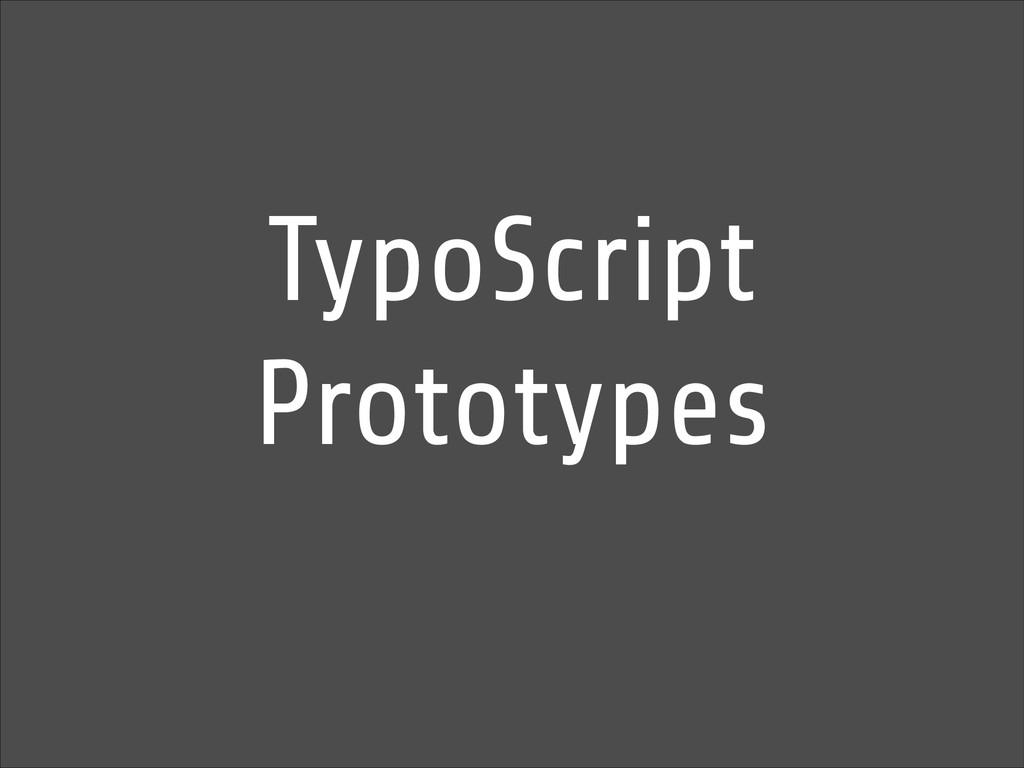 TypoScript Prototypes