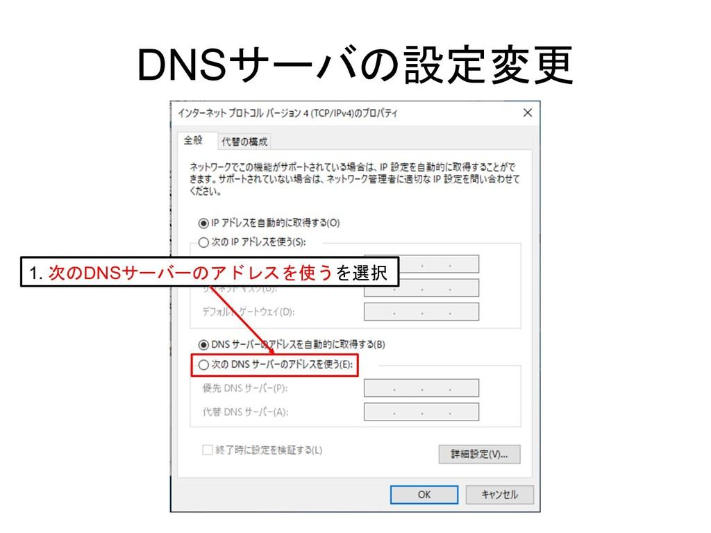 DNS  1. DNS