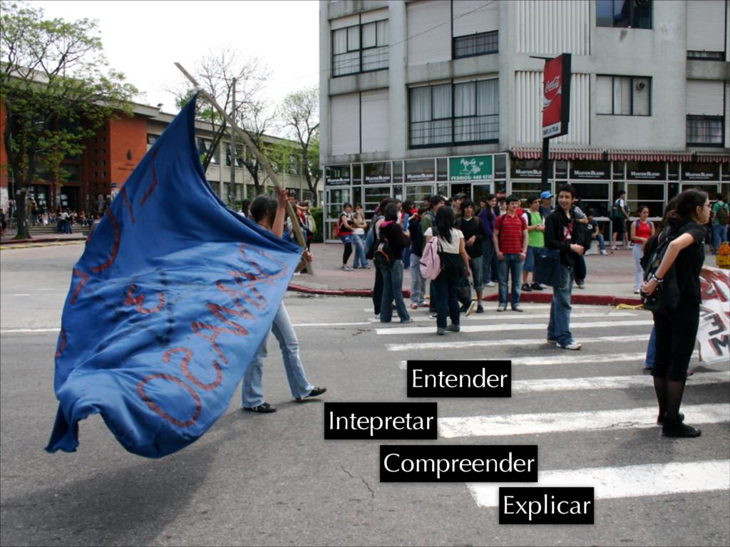 Intepretar Compreender Explicar Entender