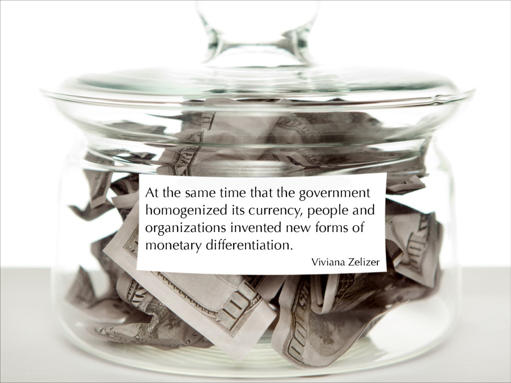 At the same time that the government homogenize...