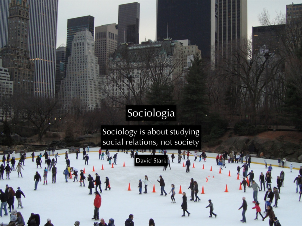 Sociologia Sociology is about studying social r...