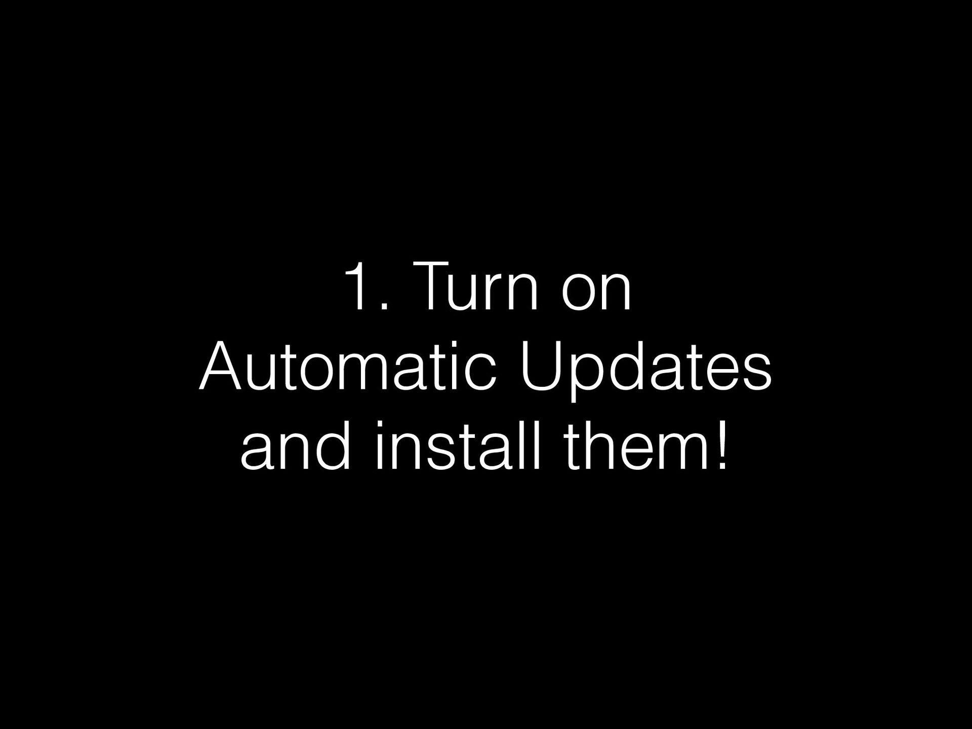 Bonus points: USB Data Blockers