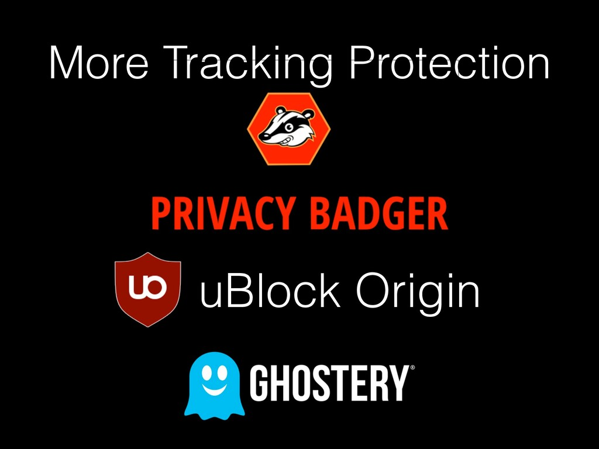 More Tracking Protection uBlock Origin