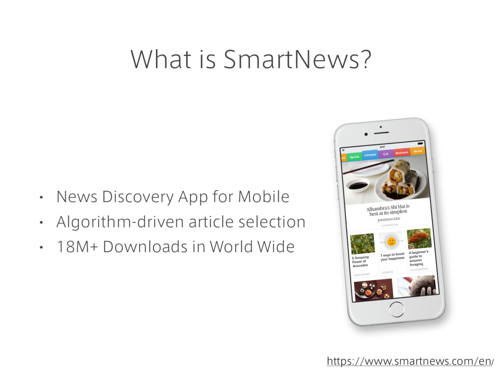 What is SmartNews? • News Discovery App for Mob...