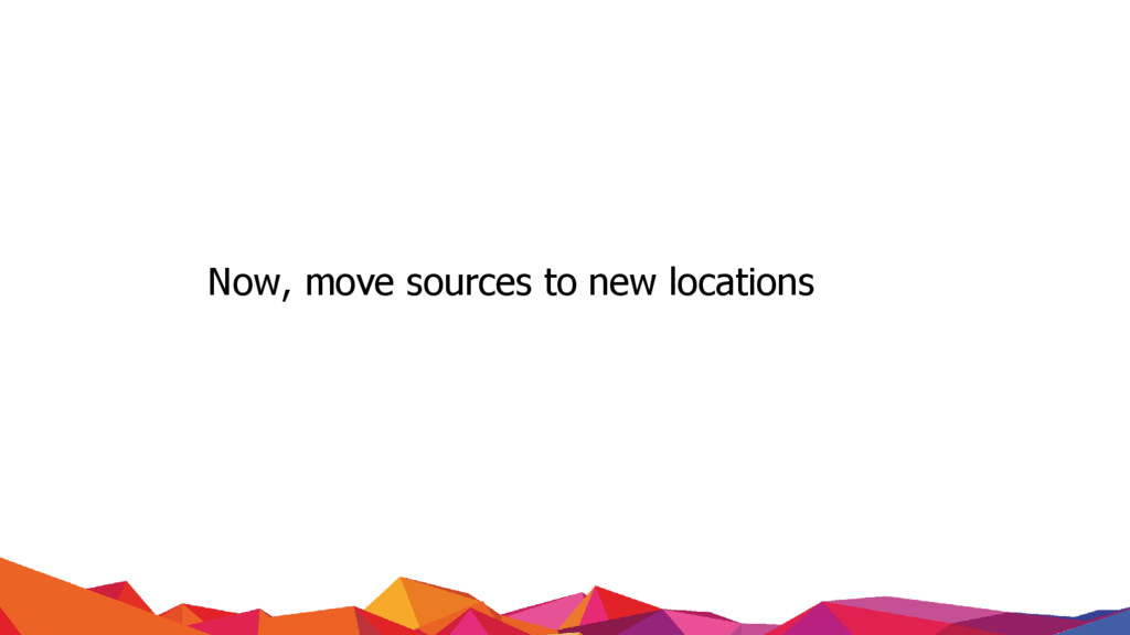 www.tothenew.com Now, move sources to new locat...
