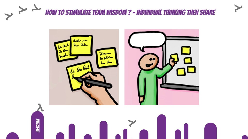 @yot88 How to stimulate team wisdom ? - Individ...