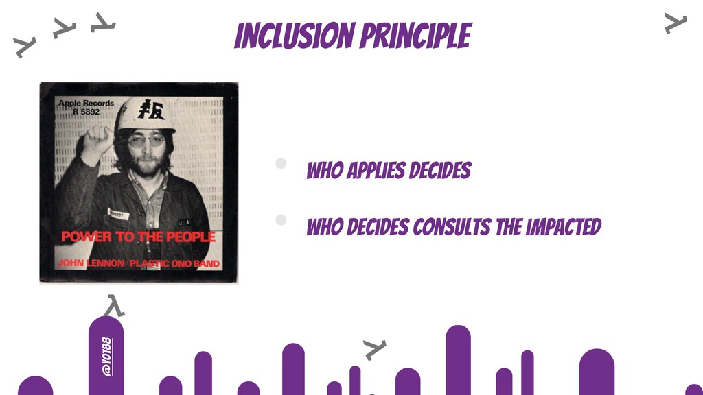 @yot88 Inclusion principle • Who applies decide...