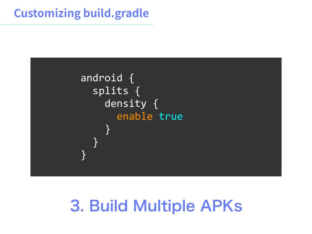 $VTUPNJ[JOHCVJMEHSBEMF android { splits { den...