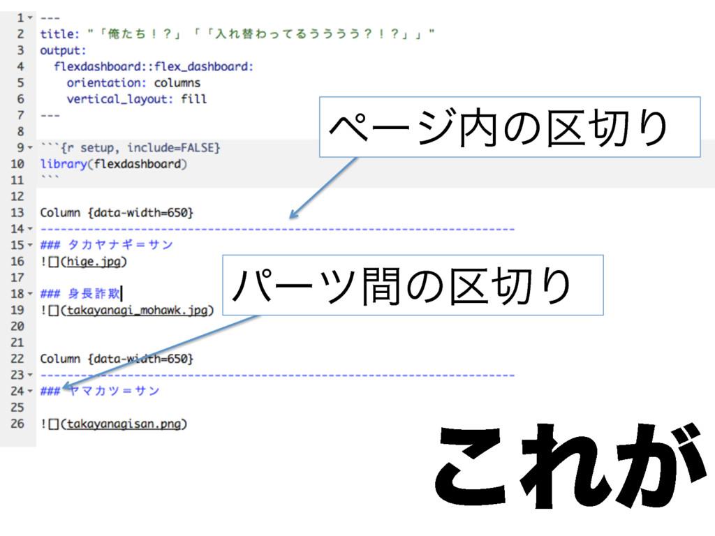 ͜Ε͕ https://github.com/dichika/ojisan ϖʔδͷ۠...