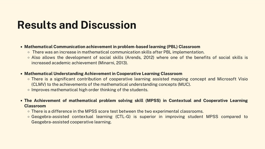 Results and Discussion Mathematical Communicati...