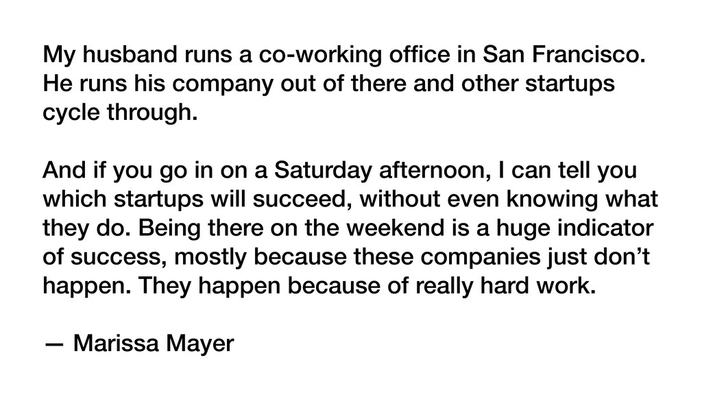My husband runs a co-working office in San Franc...