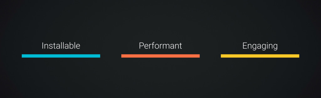 Installable Performant Engaging