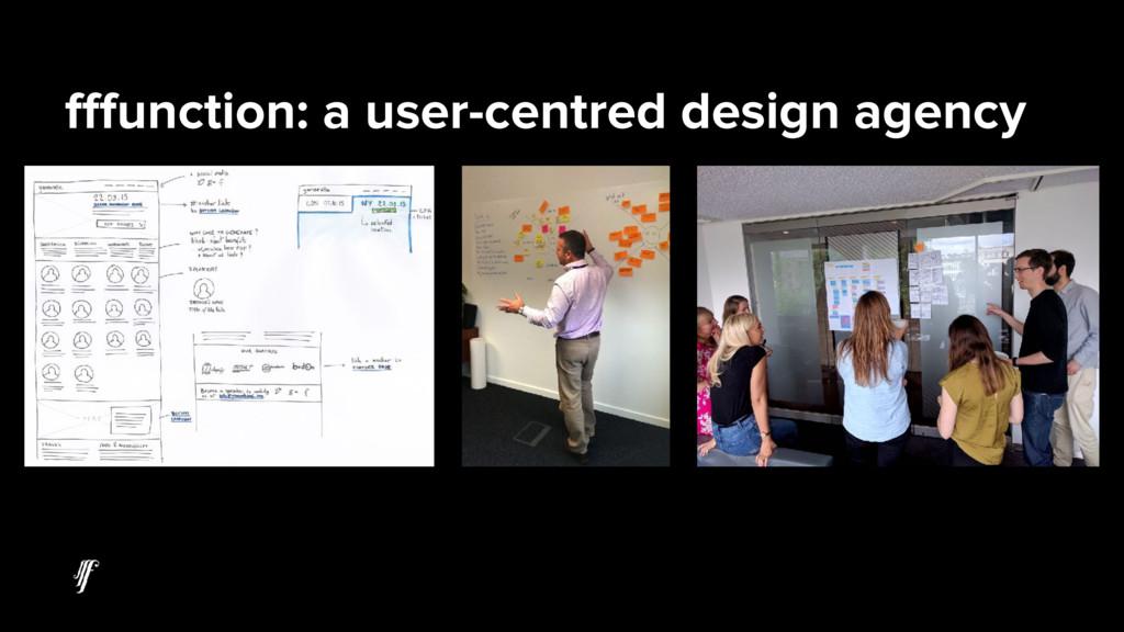 fffunction: a user-centred design agency