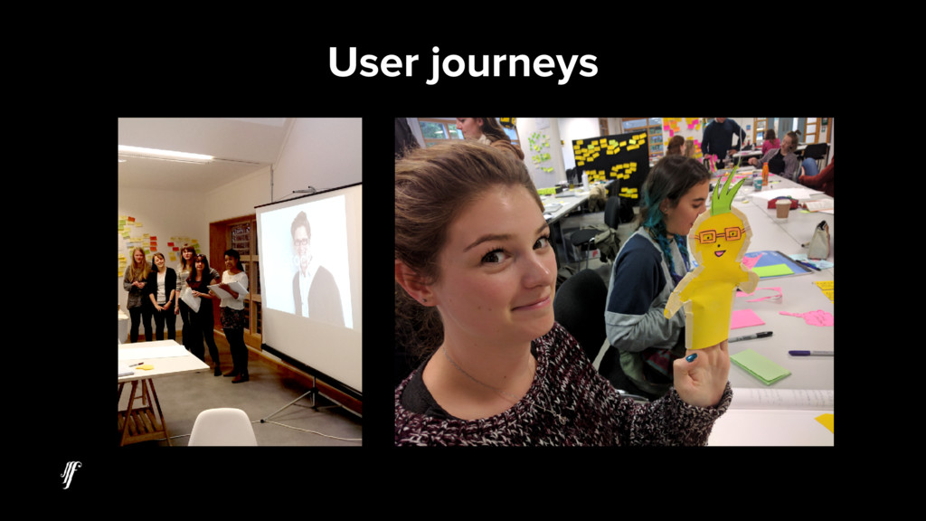 User journeys