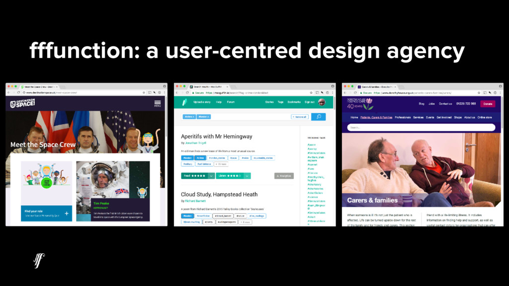 fffunction: a user-centred design agency