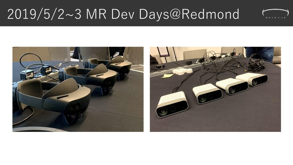 2019/5/2~3 MR Dev Days@Redmond
