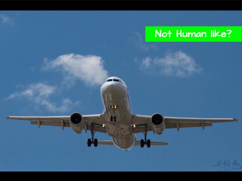 Not Human like?