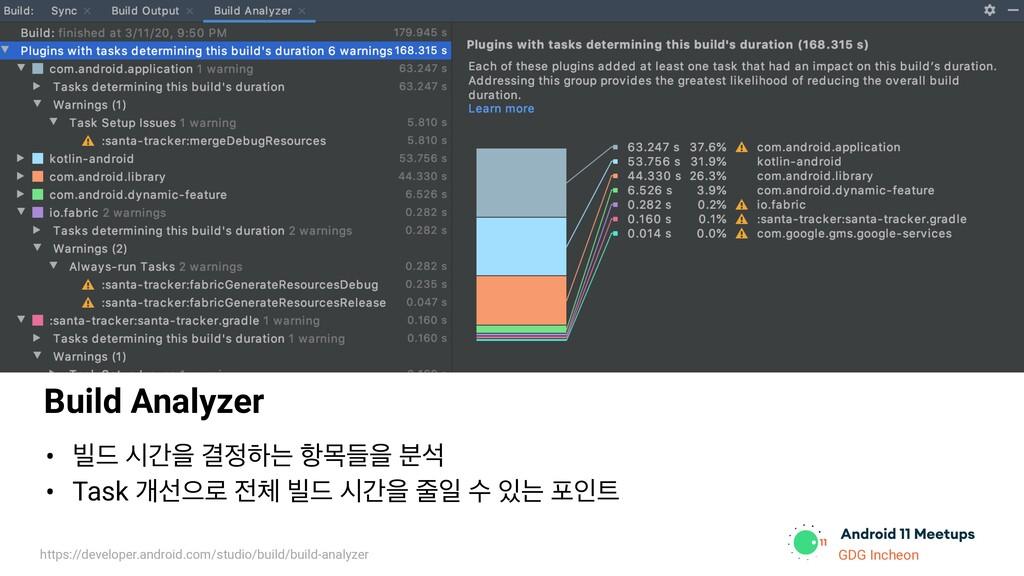 GDG Incheon Build Analyzer • ࠽٘ दрਸ Ѿೞח ೦ݾٜਸ ࠙...