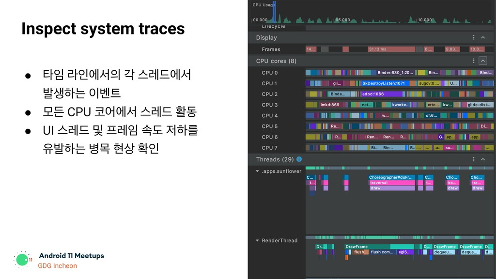 GDG Incheon Inspect system traces ● ఋ ۄੋীࢲ п ...