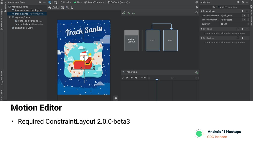 GDG Incheon Motion Editor • Required Constraint...
