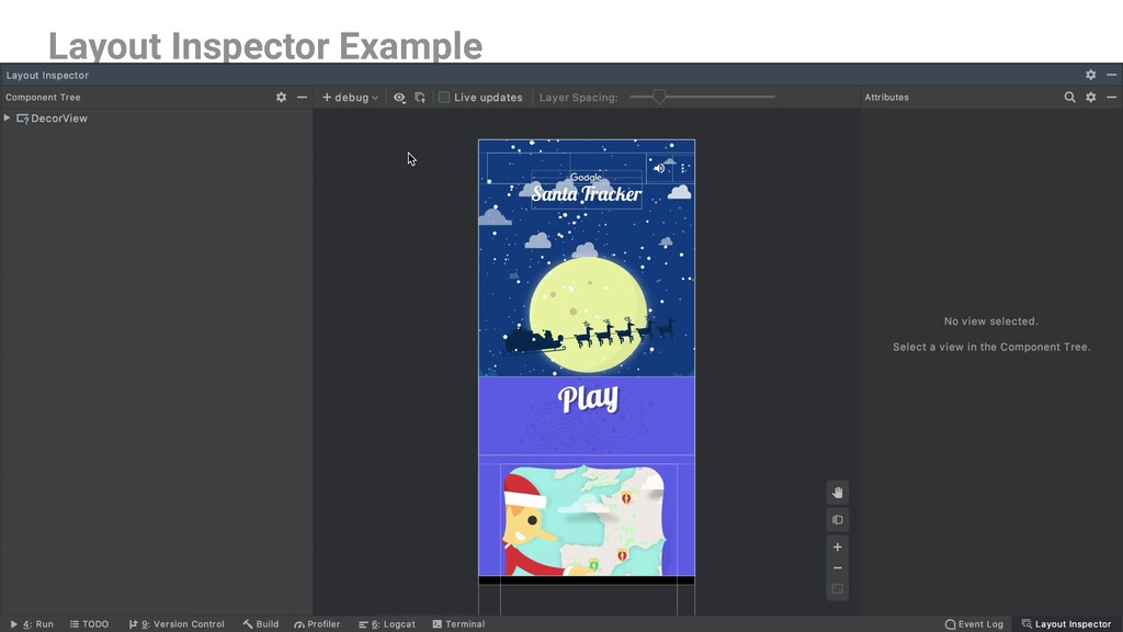 Layout Inspector Example