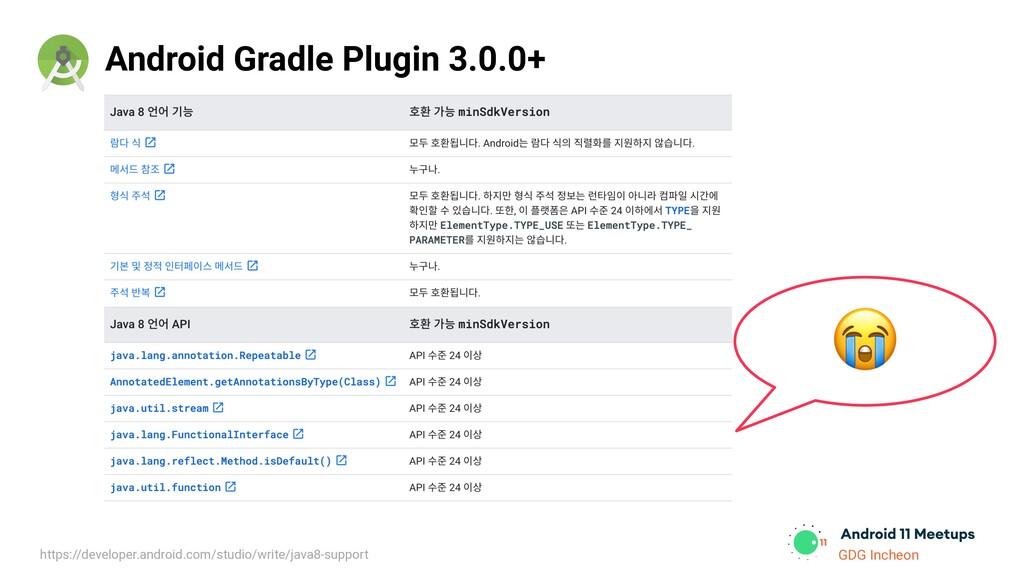 GDG Incheon Android Gradle Plugin 3.0.0+  https...