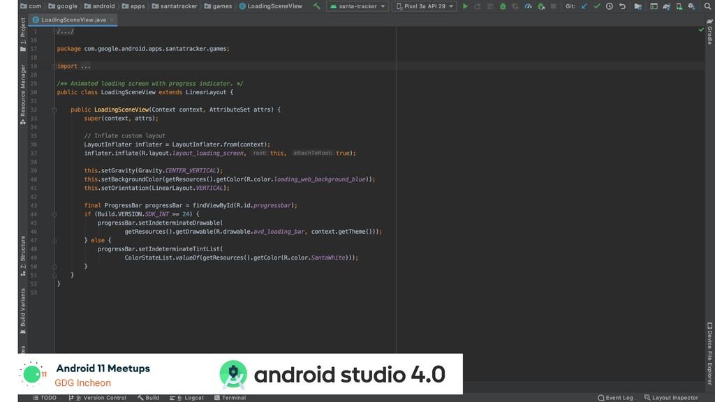 GDG Incheon android studio 4.0