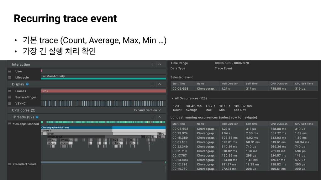 GDG Incheon Recurring trace event • ӝࠄ trace (C...