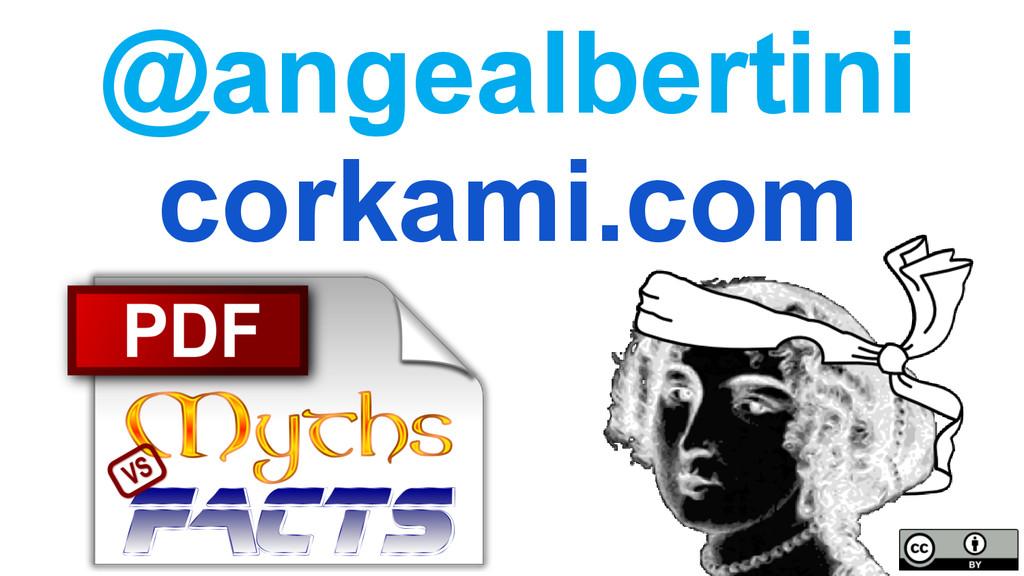 PDFs: myths vs facts corkami.com @angealbertini...