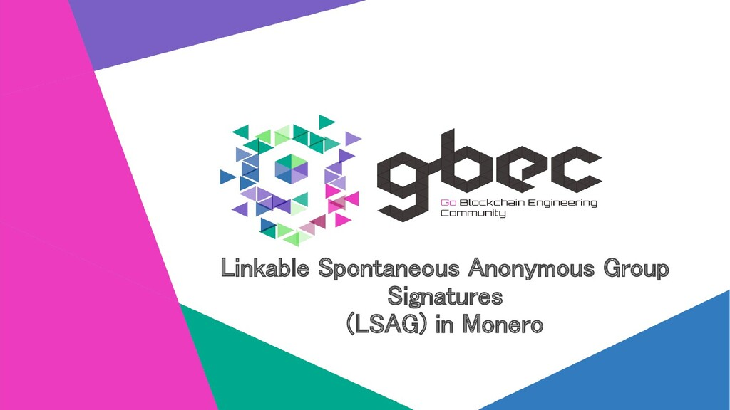 Linkable Spontaneous Anonymous Group Signatures...