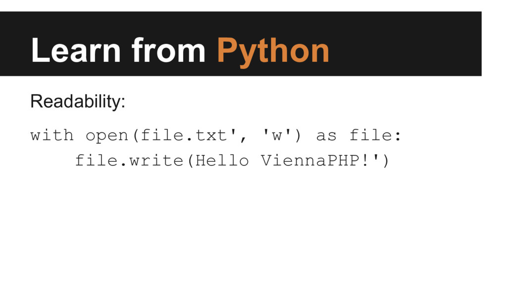 Learn from Python Readability: with open(file.t...