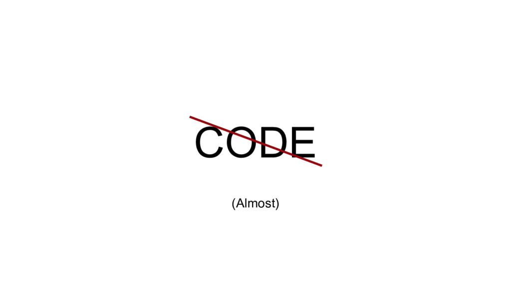 CODE (Almost)