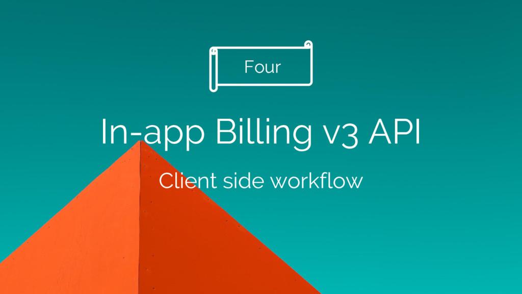 In-app Billing v3 API Client side workflow Four