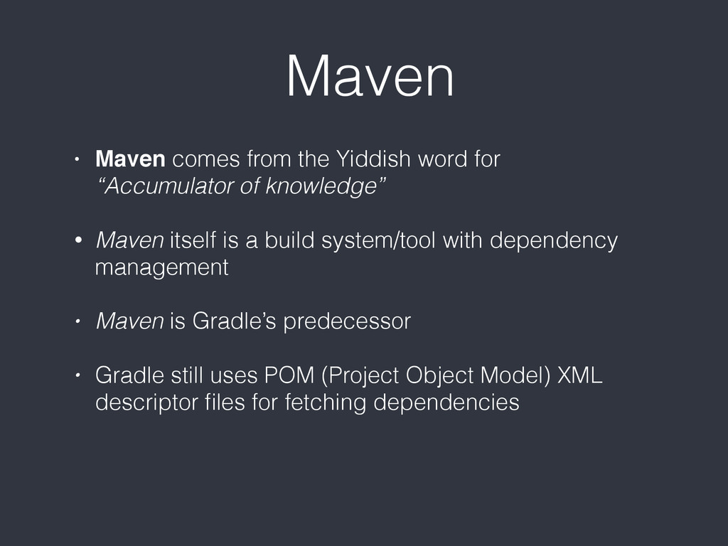 "Maven • Maven comes from the Yiddish word for ""..."