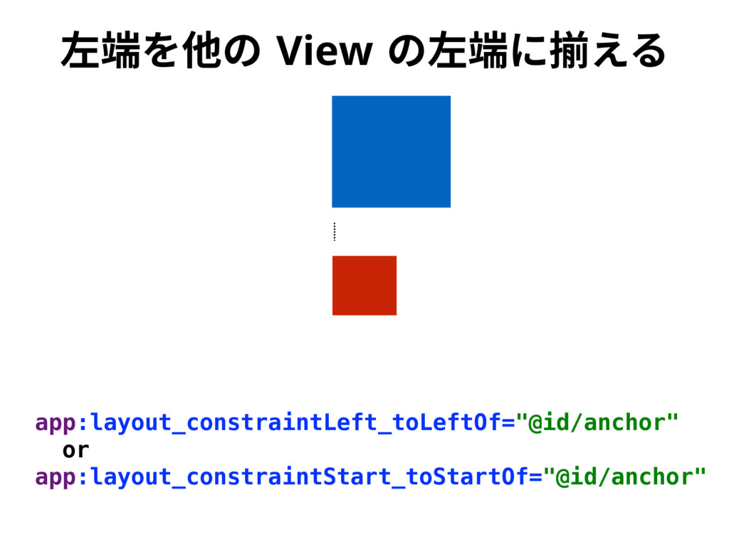 䊩畭׾➭ך 7JFX ך䊩畭ח䲧ִ׷ app:layout_constraintLeft_to...